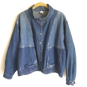 Andy Johns Mens Blue DenimJean Jacket Size L